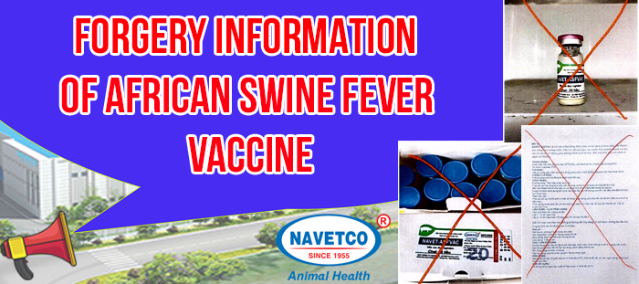 Forgery Information of African Swine Fever vaccine-top